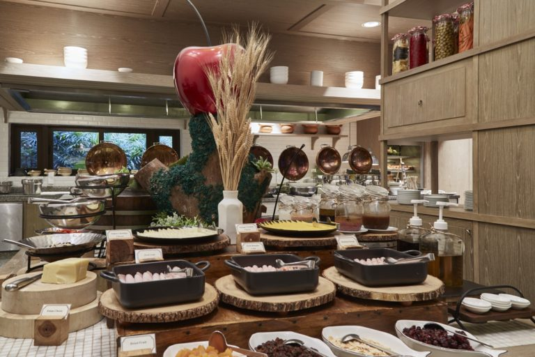Woodlands Hotel & Resort : Garden Cafe